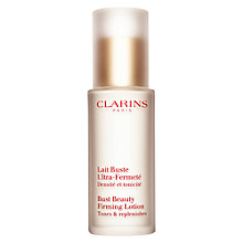 Buy Clarins Bust Beauty Firming Lotion Online at johnlewis.com