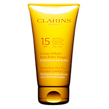 Buy Clarins Sun Wrinkle Control Cream Moderate Protection UVB15 Online at johnlewis.com