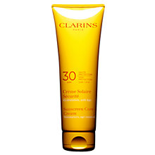 Buy Clarins Sun Care Cream High Protection For Sun-Sensitive Skin UVB30 Online at johnlewis.com