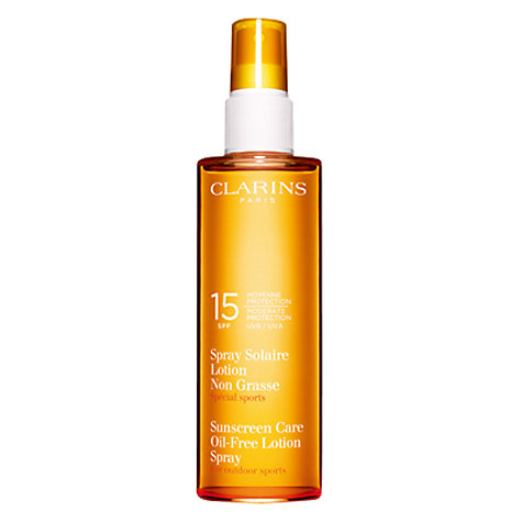 Buy Clarins Sun Care Spray Oil-Free Lotion UVB 15 Online at johnlewis.com