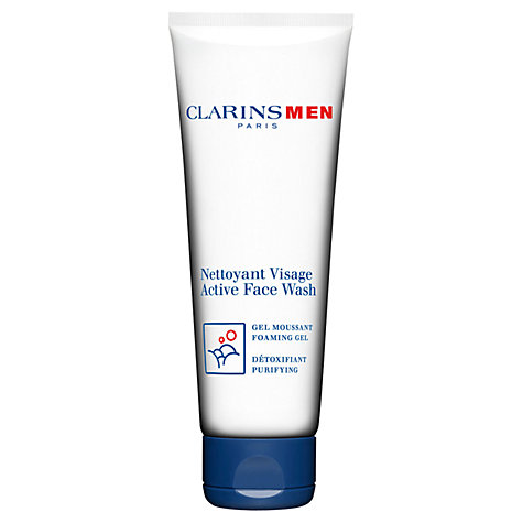 Buy ClarinsMen Active Face Wash Online at johnlewis.com