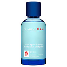 Buy ClarinsMen Aftershave Energizer Online at johnlewis.com