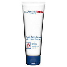 Buy ClarinsMen Aftershave Soother Online at johnlewis.com
