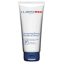 Buy ClarinsMen Total Shampoo Hair and Body Online at johnlewis.com