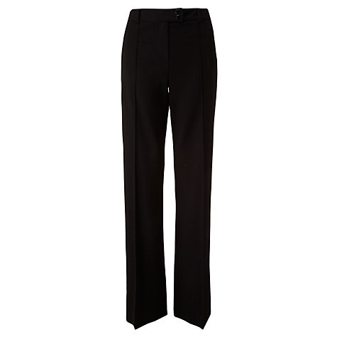 Buy COLLECTION by John Lewis Ponte Bootcut Trousers, Black Online at johnlewis.com