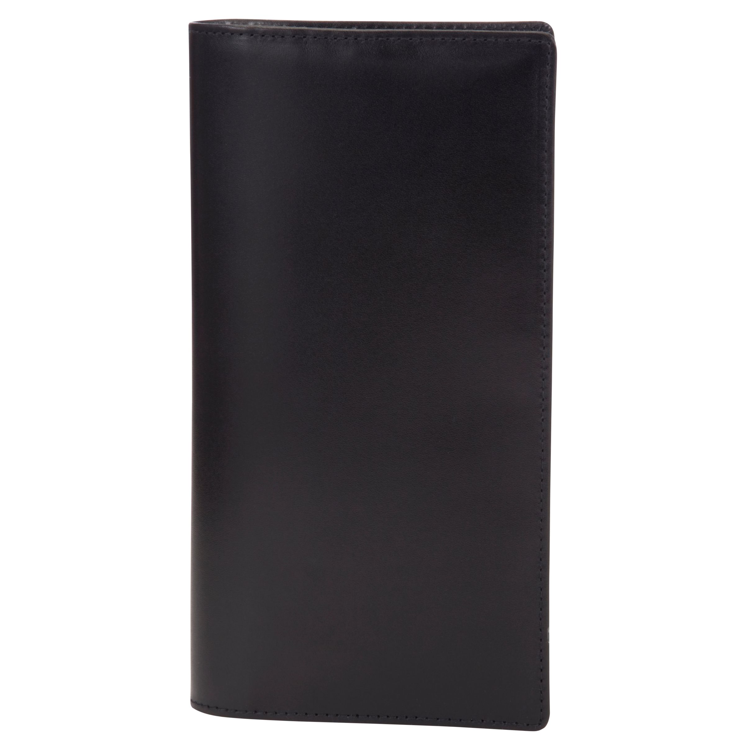 Launer Launer Made in England Calf Leather Wallet, Black