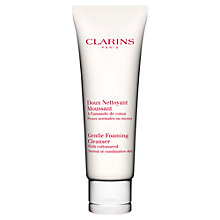 Buy Clarins Gentle Foaming Cleanser - For Normal/Combination Skin, 125ml Online at johnlewis.com