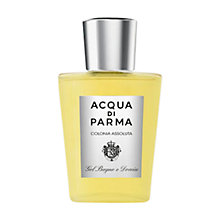 Buy Acqua di Parma Colonia Assoluta, Bath and Shower Gel, 200ml Online at johnlewis.com