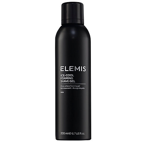 Buy Elemis Ice Cool Foaming Shave Gel, 200ml Online at johnlewis.com