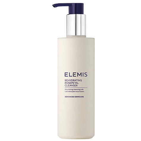 Buy Elemis Skincare Rehydrating Rosepetal Cleanser, 200ml Online at johnlewis.com