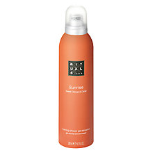 Buy Rituals Sunrise Shower Foam, 200ml Online at johnlewis.com
