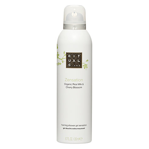 Buy Rituals Zensation Foaming Shower Gel, 200ml Online at johnlewis.com