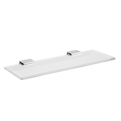 Miller Frosted Glass Bathroom Shelf