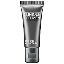 Buy Clinique For Men Anti-Age Eye Cream, 15ml Online at johnlewis.com