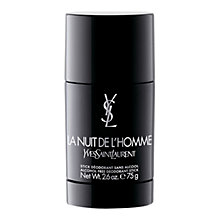 Buy Yves Saint Laurent La Nuit de L'Homme Deodorant Spray Online at johnlewis.com