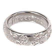 Buy Dower & Hall Silver Forget-Me-Not Ring Online at johnlewis.com