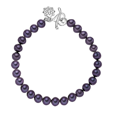 Buy Dower & Hall Single Strand Pearl Bracelet Online at johnlewis.com