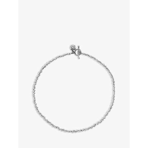 Buy Dower & Hall Silver Nomad Nugget Bead Necklace Online at johnlewis.com