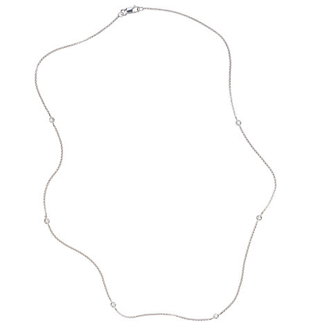 Buy London Road Diamond Set Necklace Online at johnlewis.com
