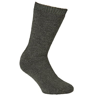 Barbour Calf Length Wellington Socks, Green