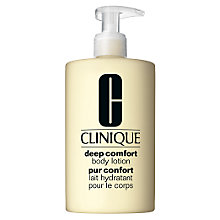 Buy Clinique Deep Comfort Body Lotion Online at johnlewis.com