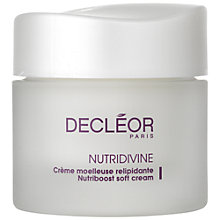 Buy Decléor Nutridivine Nutriboost Soft Cream, 50ml Online at johnlewis.com