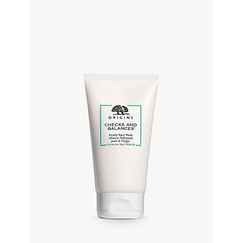 Buy Origins Checks And Balances™ Frothy Face Wash, 150ml Online at johnlewis.com