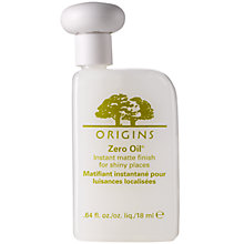 Buy Origins Zero Oil® Instant Matte Finish For Shiny Places, 18ml Online at johnlewis.com