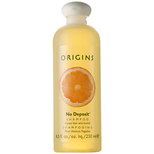 Buy Origins No Deposit® Shampoo If Your Hair Acts Bored, 250ml Online at johnlewis.com