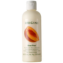 Buy Origins Knot Free® Finishing Rinse Conditioner If Your Hair Acts Hard To Comb, 250ml Online at johnlewis.com