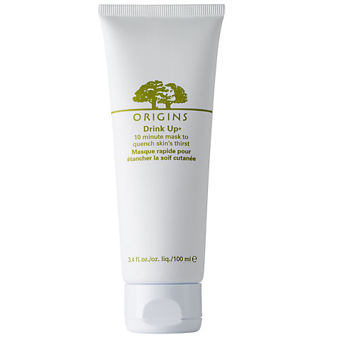 Buy Origins Drink Up® 10 Minute Mask To Quench Skin's Thirst, 100ml Online at johnlewis.com