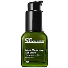 Buy Origins Mega-Mushroom Eye Serum To Optimize Skin's Defenses, 15ml Online at johnlewis.com