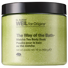 Buy Origins The Way Of The Bath™ Matcha Tea Body Soak, 454g Online at johnlewis.com