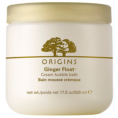 Buy Origins Ginger Float™ Cream Bubble Bath, 500ml Online at johnlewis.com
