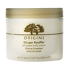 Buy Origins Ginger Souffle™ Whipped Body Cream, 200ml Online at johnlewis.com