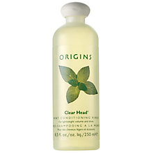 Buy Origins Clear Head® Mint Conditioning Rinse For Lightweight Volume And Shine, 250ml Online at johnlewis.com