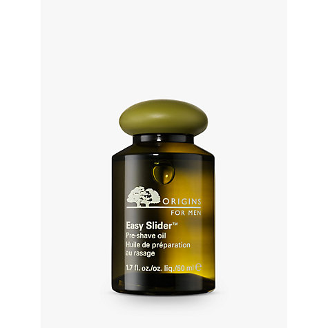 Buy Origins Easy Slider™ Pre-Shave Oil, 50ml Online at johnlewis.com