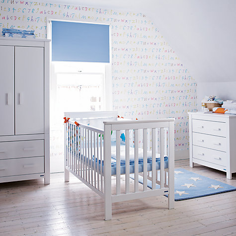 Buy John Lewis Lasko Nursery Furniture, White Online at johnlewis.com