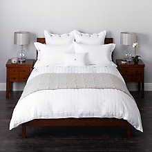 Buy John Lewis Wide Seersucker Bedding Online at johnlewis.com