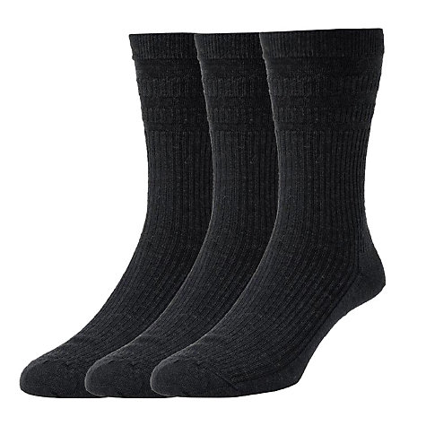 Buy HJ Hall Soft Wool Socks, Pack of 3 Online at johnlewis.com
