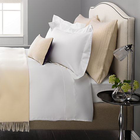 Buy John Lewis Exquisite Genuisa Cotton Fitted Sheets Online at johnlewis.com
