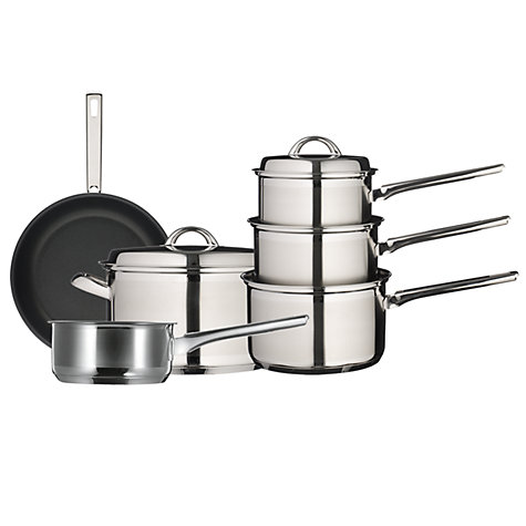 Buy John Lewis Classic II Steamer Set, 3 Piece Online at johnlewis.com