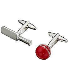 Buy John Lewis Cricket Cufflinks Online at johnlewis.com