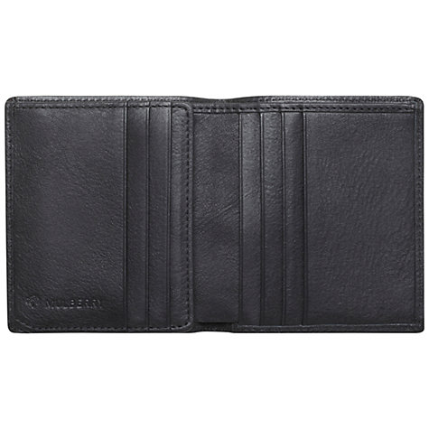 Buy Mulberry Mini Tri-Fold Wallet, Black Online at johnlewis.com