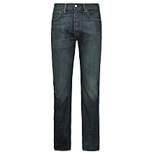 Buy Levi's 501 Original Straight Jeans, Dusty Black Online at johnlewis.com