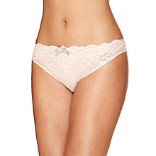 Buy Chantelle Rive Gauche Briefs, Cappuccino Online at johnlewis.com