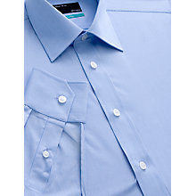 Buy John Lewis Fine Stripe Single Cuff Shirt Online at johnlewis.com