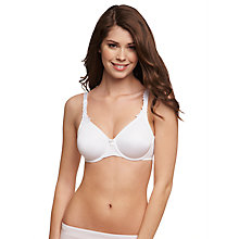 Buy Triumph Elegant Underwired Comfort Bra, White Online at johnlewis.com