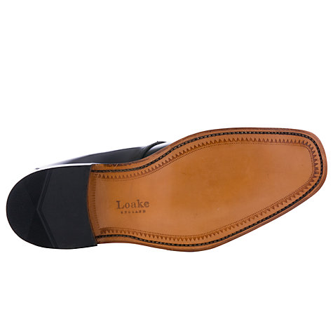 Buy Loake Titan Derby Lace Up Leather Shoes, Black Online at johnlewis.com