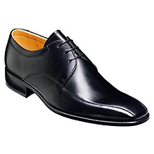 Buy Barker Ross Leather Derby Shoes, Black Online at johnlewis.com